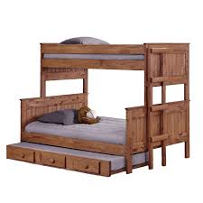 bunk bed with stairs plans. Twin Over Full Bunk Bed With Trundle And Stairs Designs Plans