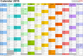 Template Monthly Calendar 2015 Calendar 2015 Uk 16 Free Printable Word Templates