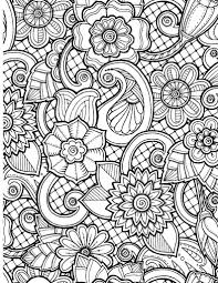awesome cute henna flower coloring pages gallery 10 j take time to color the