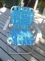 Small Picture Little Homestead in Boise Re Webbing a Vintage Lawn Chair Mini