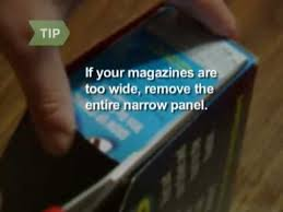Wide Magazine Holder How to Make a Magazine Holder Out of a Cereal Box YouTube 46