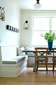 kitchen table with built in bench. White Dining Table With Bench Built In Corner Seat Banquette . Kitchen E