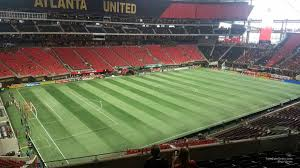Atlanta United Seating Chart Mercedes Benz Mercedes Benz Stadium Section 217 Atlanta United