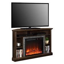 dorel overland electric fireplace corner tv stand image 1 of 4 zoomed image