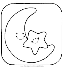 Small Picture Moon and Stars Coloring Pages Printable Nellies nursery Pinterest