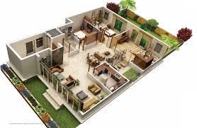 floor plan 3d. 31 Awesome Villa Floor Plan 3d Images