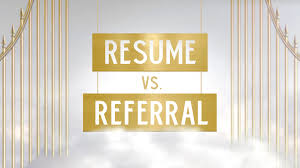 Resume Vs Referral Video The Skit Guys