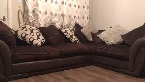 dfs brown corner sofa village