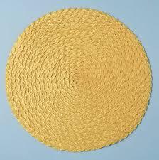 round yellow rug uk