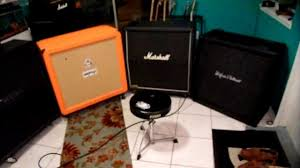 Best Guitar Amp Cabinets Guitar 4x12 Cabshootout Mesa Marshall Orange Hk Metal Part 3