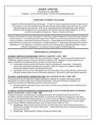 payroll administrator resume 1 payroll administration resume