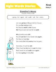 Kindergarten Sight Words Worksheets Free Kindergarten Sight Word ...