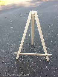 make your own display easel