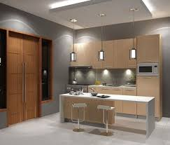 Modular Kitchen In Small Space Kitchen Room Design Entrancing Furniture Modern For Purple