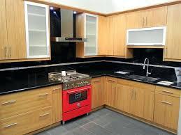 slab kitchen cabinets cabinet backsplash flat door modern