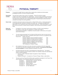 Physical Therapist Resume Physical Therapist Resume Sample Therapy Example Examples 6