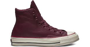 converse chuck 70 street warmer leather high top in red for men save 69 lyst