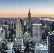 Модульная картина на холсте Ekoramka 90x90 НЬЮ ЙОРК ...