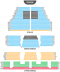 Alexandra Palace Seating Chart Cambridge Theatre Seating Plan Find The Best Seats For