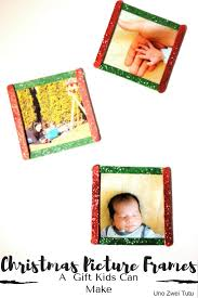 are you looking for an easy homemade gift idea these craft sticks picture frames