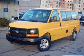 CNG Utah - 2003 Chevrolet Express 2500 Cargo Van Bi-Fuel