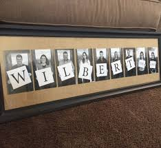 40th anniversary gift for pas kids and grandkids photo gift tip take photos holding only a white canvas board letters can be added later in