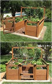 vegetable garden kit is the perfect size for enthusiasts