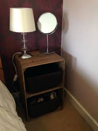 milk crate bedside table medium size of crates home depot new coffee table milk crate coffee