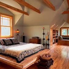 amusing rustic wooden cabin with classic home accessories cozy attic bedroom idea with a window amusing rustic small home