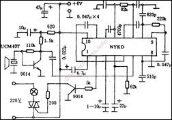 ceiling fan wireless receiver ceiling wiring diagram, schematic Mr77a Wiring Diagram remote controlled encoder for fan based on hn2c together with ultrasonic remote controlled fan circuit 1 mr77a receiver wiring diagram