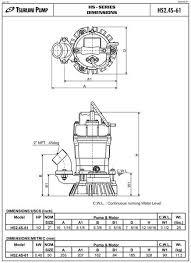 tsurumi hs submersible trash pump wiring diagram tsurumi hs submersible trash pump
