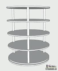lazy susan shoe storage rotating shoe rack plans on lazy susan style shoe storage