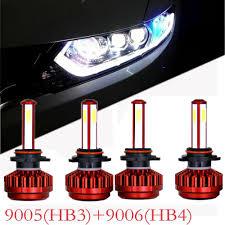 9005 Led Light Kit 4pcs 9005 Hb3 9006 Hb4 160w 16000lm Led Headlight Bulb Light