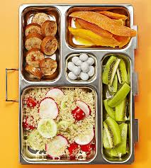 Quinoa salad bento box lunch Think Inside The Box: 50 Bento Box Lunch Ideas