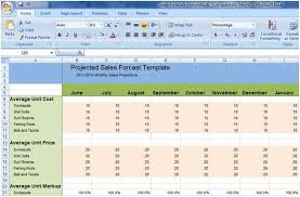 cost forecasting template sales forecast spreadsheet template new forecasting in excel sales