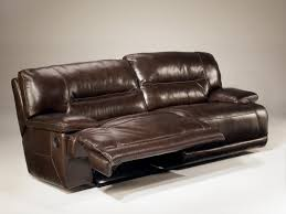 Furniture Leather Reclining Loveseat