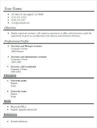 Free Simple Resume Templates Amazing Simple Resume Template Free Samples Examples Format Download Sample