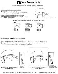 shovelhead us Wiring Diagram For Shovelhead Chopper national cycle windshields 1 2 wiring diagram for harley shovelhead chopper