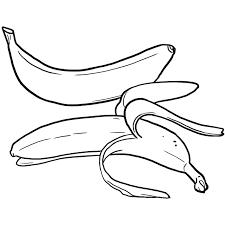 Banane Dessin Colorier Coloriage Printable Pdf Jeu Imprimer Banane Dessin L
