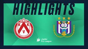 KV Kortrijk - RSC Anderlecht hoogtepunten - YouTube