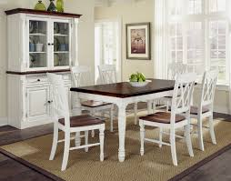 rustic white dining table.  Table Exclusive Inspiration Rustic White Dining Table 23 With