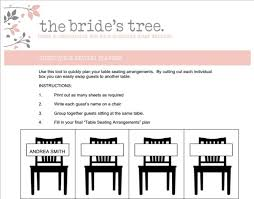 Wedding Seating Arrangement Tool Seating Arrangements The Brides Tree