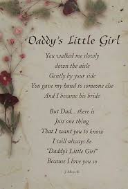 Daddy\'s Little Girl Quotes Custom Little Girl Poems