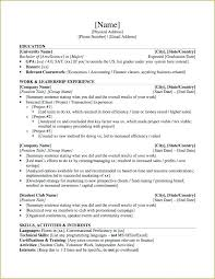 Grad School Resume Template Amazing High School Graduate Resume Objective Examples Resumes Spacesheepco