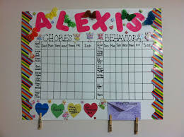 Five Year Old Behavior Chart Fairy Princess Responsibility Chart Chic Mommy In Pink