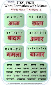 Hindi Words With Ki Matra Learn Hindi Hindi Worksheets