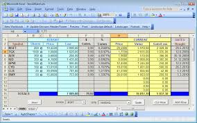 Inventory Management In Excel Simple Stock Portfolio Management By Excel Guidance Blog