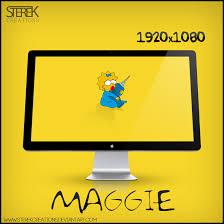 Simpsons Wallpaper For Bedroom Jse657 Maggie Simpson Wallpapers Nice Maggie Simpson Hd