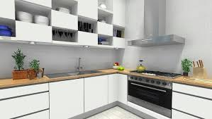 contemporary creative kitchen storage with wooden kitchen cabinet
