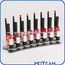 Lipstick Display Stands China Countertop Lipstick Display Stand in Black Acrylic on Global 3